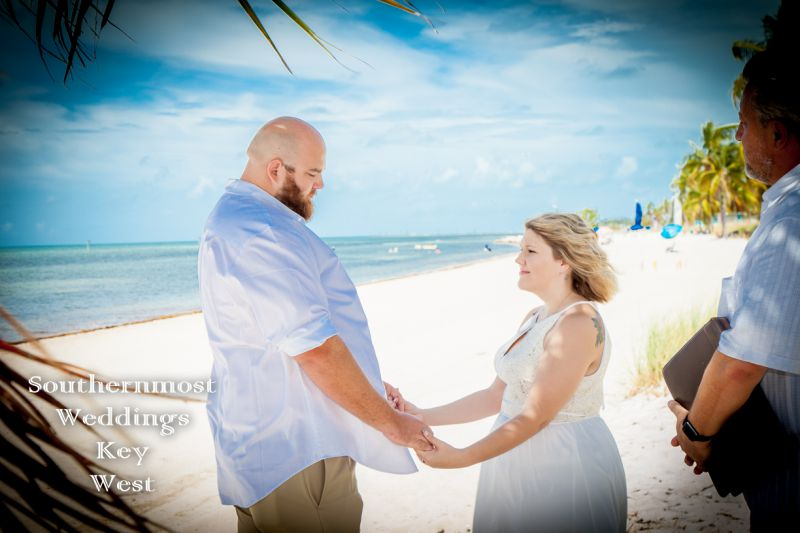 Key West Beach Elopement Package by Southernmost Weddings Key West