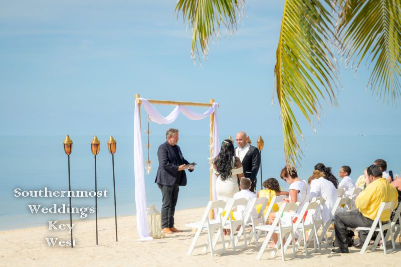 Starfish Deluxe Beach Wedding Package by Southernmost Weddings Key West